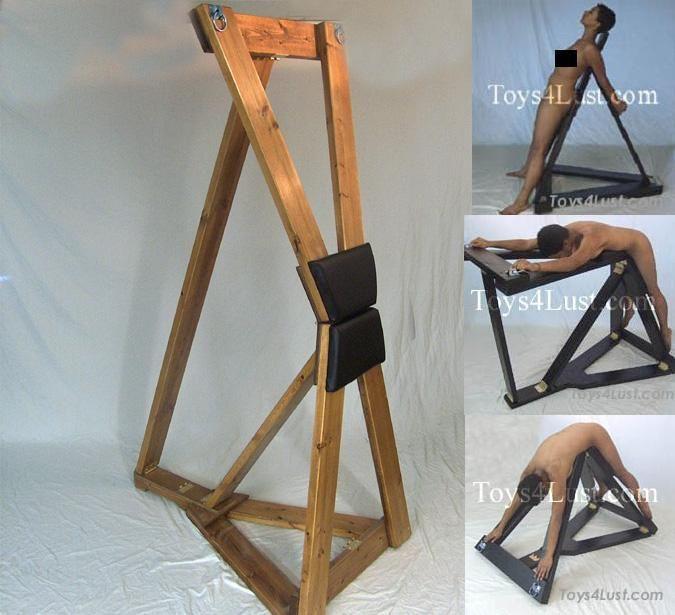 Homemade bondage equipment plans