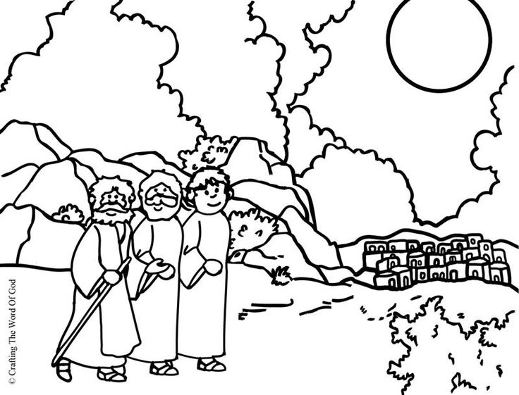Road To Emmaus Coloring Page Road To Emmaus Sunday School Kids