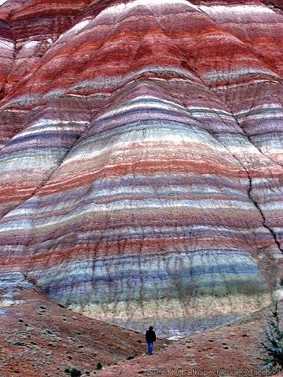 The Paria Mountains 18 miles from Kanab, Utah in Hwy 89. Paria Wilderness, Utah, USA. These mountains are found beside a dirt road that connects to Highway 89 just before the Paria River. Hwy 89 takes you from Kanab Utah to Page Arizona. The side of the