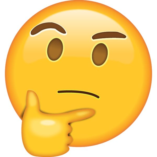 Thinking Face Emoji - Got your thinking cap on? While you puzzle over the problem, let them know you're lost in thought with this emoticon.