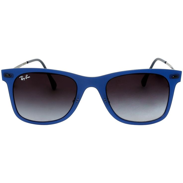 ray ban clubmaster blue frame  17 Best ideas about Ray Ban Wayfarer Sizes on Pinterest