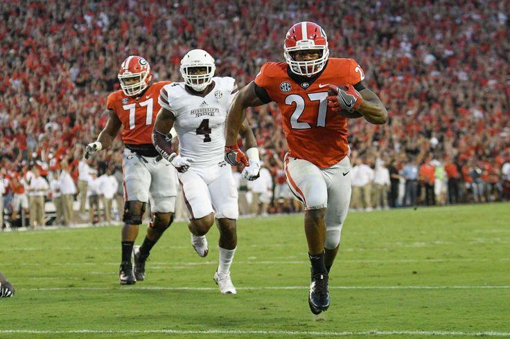 Week 5 college football rankings: Georgia enters human top-10s