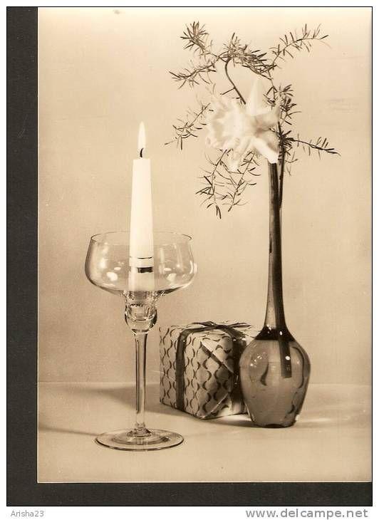 5k. Alles gute zum Geburstag - echt real photo postcard - 1943