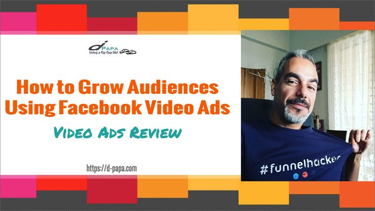 More on how to grow your video audiences try here https://d-papa.com/videoads