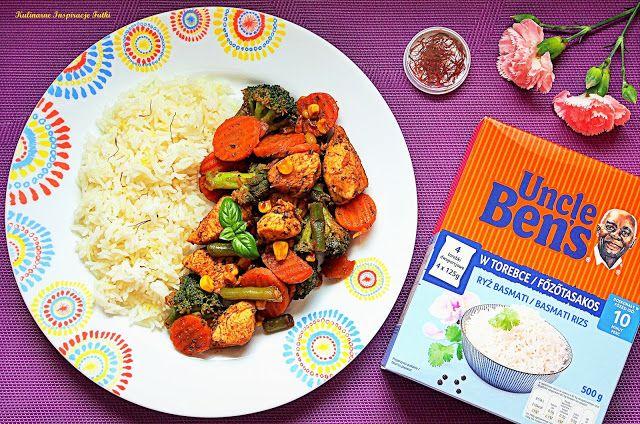Kulinarne Inspiracje Futki: Ryż basmati z kurczakiem i warzywami