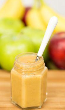 Apple-Banana Baby Foodhttp://www.blendtec.com/recipes/apple_banana_baby_food