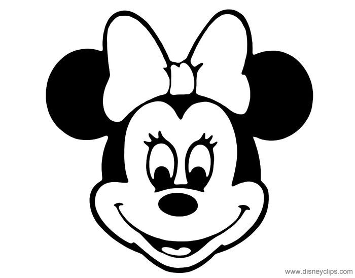 Minnie Mouse Face Coloring Pages Minnie Mouse Coloring Pages Cartoon Coloring Pages Minnie Mouse Pictures