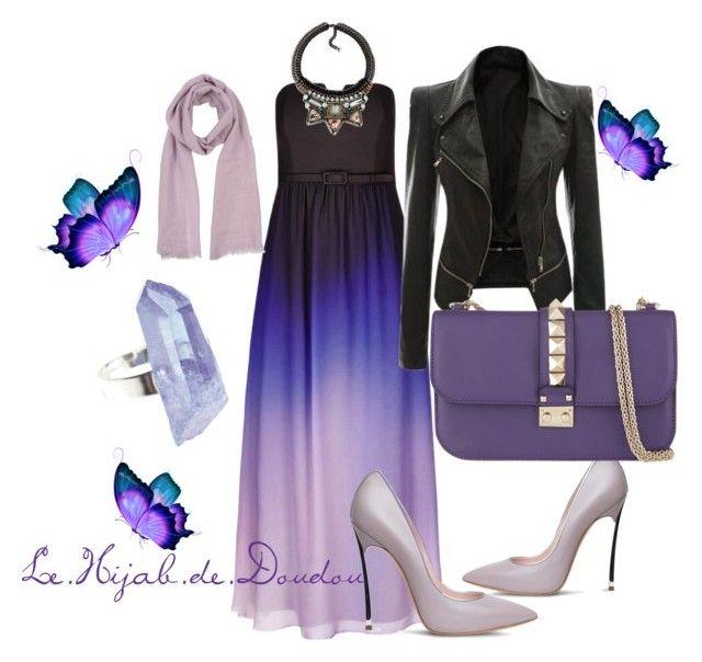 Purple Hijab Outfit http://lehijabdedoudou.wordpress.com
