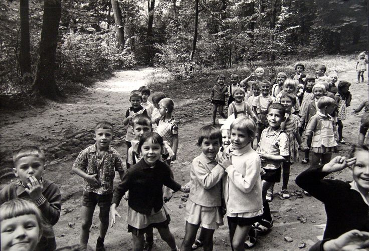 Pulawy Poland, Children in Park by Cecil Beaton