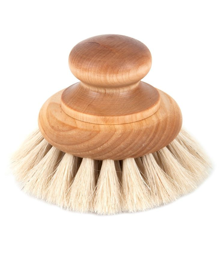 This beautiful bath brush made with birch wood and horse hair, will make your bath time truly special. | huntingforgeorge.com
