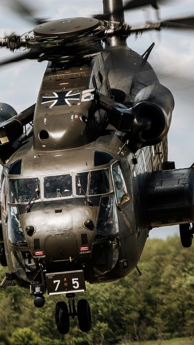Sikorsky Ch 53 Sea Stallion Luftwaffe Military Helicopter