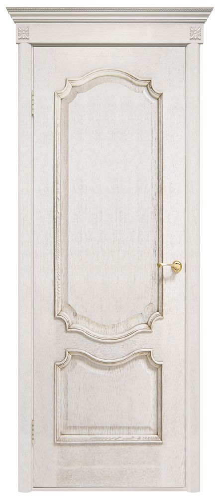 """Межкомнатная дверь """"Престиж"""", пг, белый ясень"""