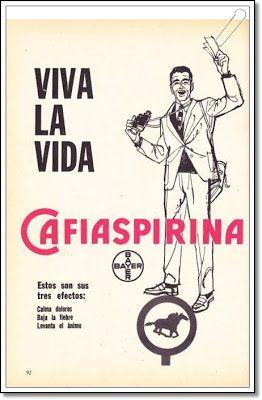 Bayer - Cafiaspirina - agosto de 1962 #vintage #ads #advertising #publicidad #gráfica