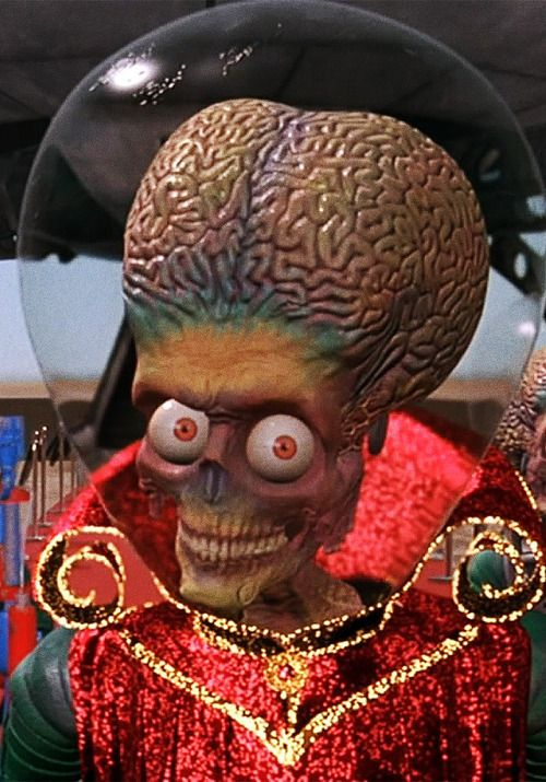 Mars Attacks! -- I just watched this yesterday. Still as good as ever.
