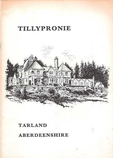 Tillypronie, Tarland, Aberdeenshire., Unknown.