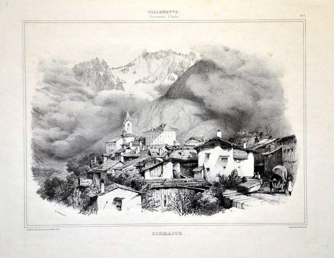Cormajor [Carte e Stampe Antiche - Pettinaroli, Milano]