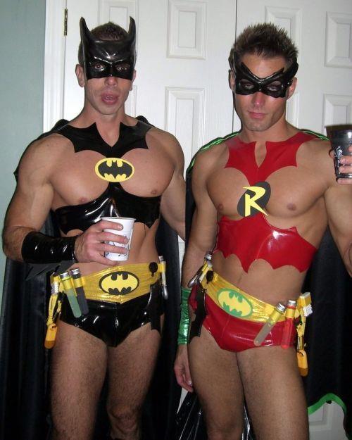 hot naked batman and robin