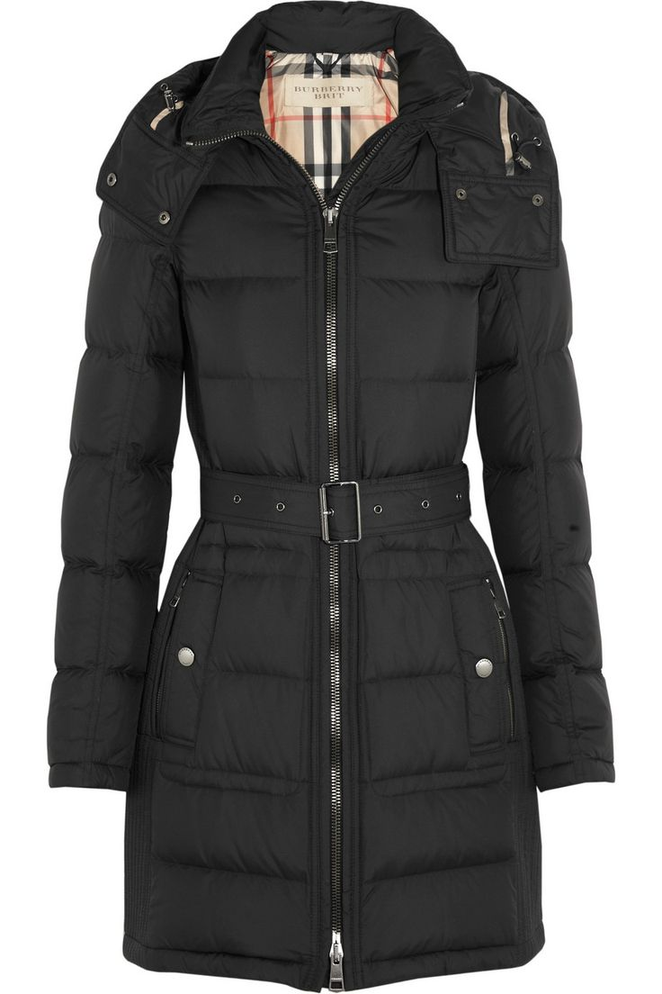 Burberry Brit|Quilted down coat|NET-A-PORTER.COM