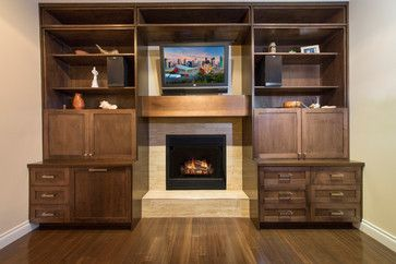 Parkdale House - transitional - living room - calgary - Better Home Design Inc