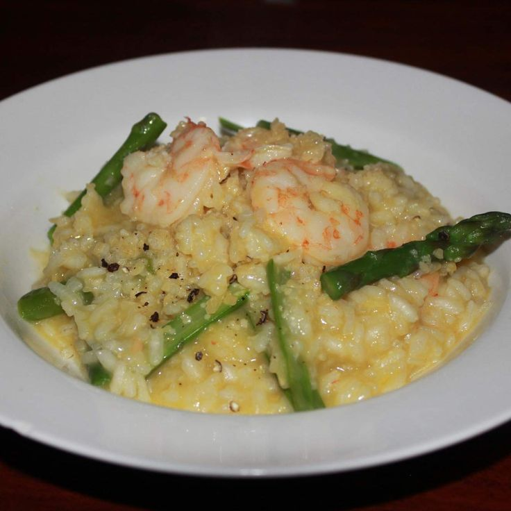 Recipe Prawn and Asparagus Risotto by Mariko - Recipe of category Pasta & rice dishes