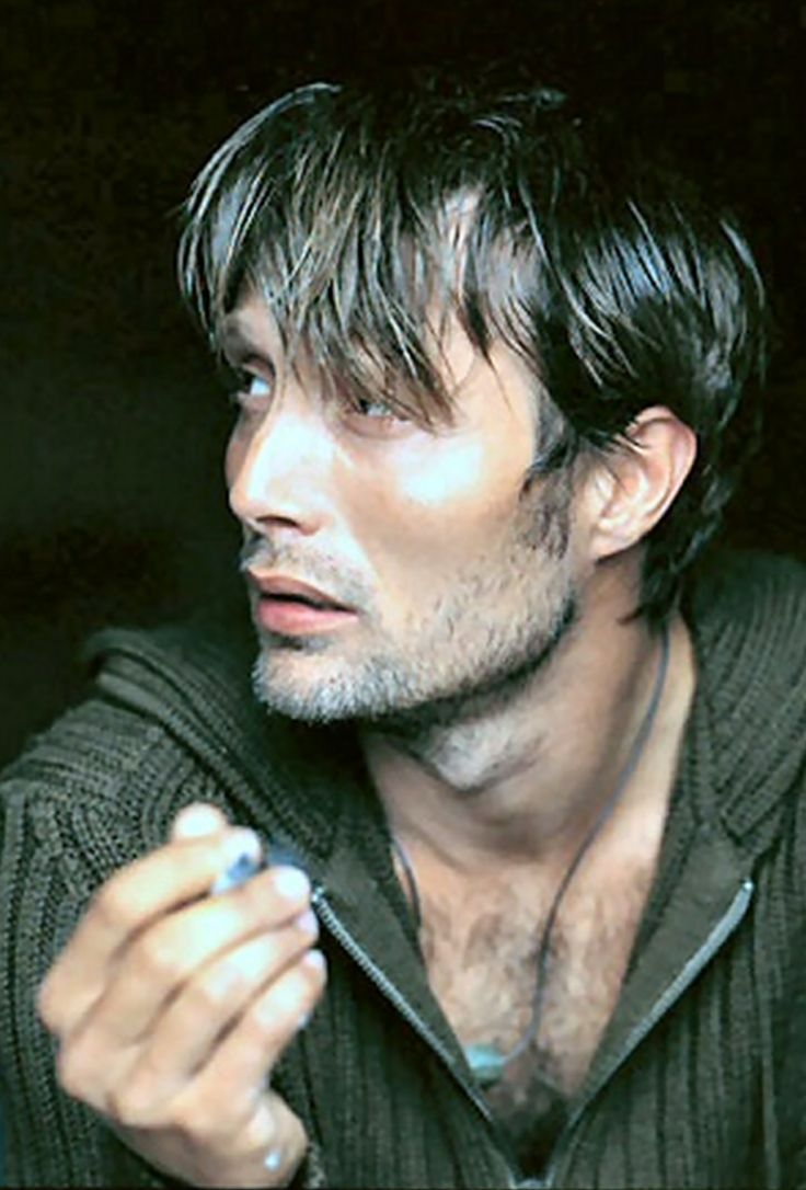Mads Mikkelsen. I don't consider many people above average, but he is beyond handsome