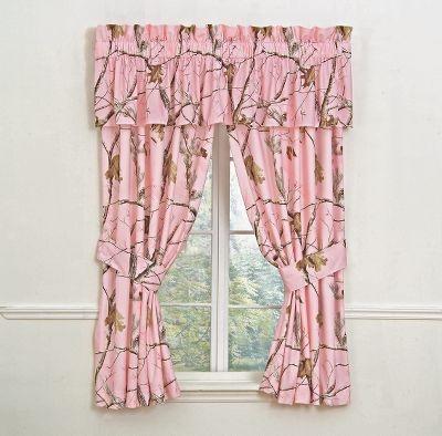 Realtree Ap Rod Pocket Pink Drapes At Cabela 39 S Home