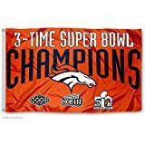 Denver Broncos Super Bowl Flags Pennants