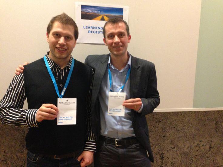 Learning partners: Mikko & Kristoffer