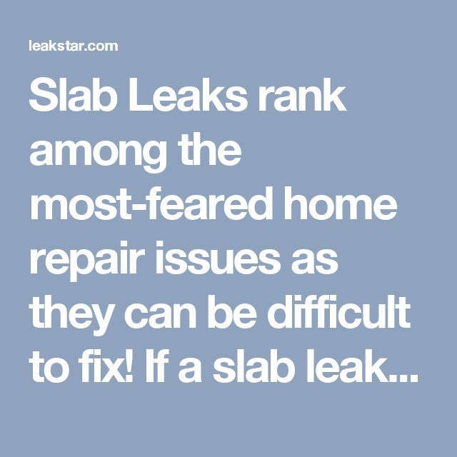 Slab Leaks rank among the most-feared home repair issues as they can be difficult to fix!    If a slab leak develops in your home, you'll need to have a slab leak repair San Clemente expert fix it as soon as possible. A slab leak occurs beneath the concrete foundation of your house. If neglected, a leak of this kind can lead to serious problems, including the danger of rot and mold, or even cracks and holes.   Unfortunately, slab leaks can easily go undetected until they've already caused…
