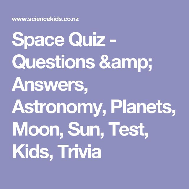 funny questions about the planets - photo #10
