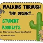 This is a printable student booklet that allows students to color and write about 11 different desert animals and plants, including:Saguaro Cactus...