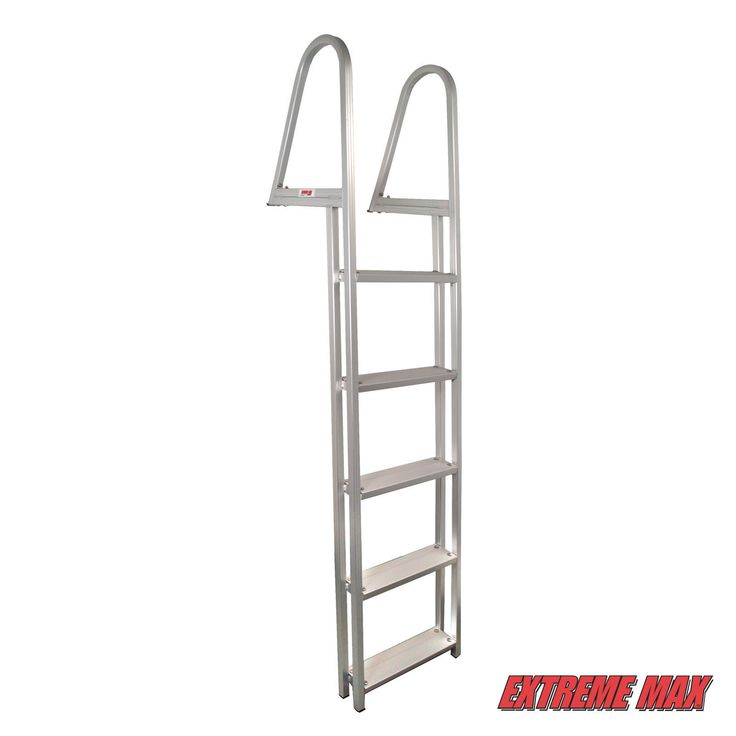 Other Water Sports 159151: Extreme Max Aluminum Pontoon Dock Ladder - 5-Step Tmc, Premier, Sunchaser,Etc -> BUY IT NOW ONLY: $112 on eBay!