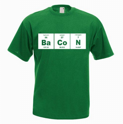 Bacon Funny T-shirt - http://goo.gl/YLSR9l
