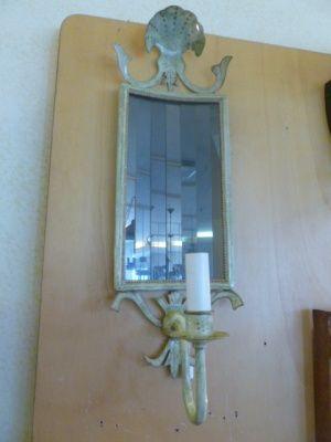 Applique Conchiglia con specchi