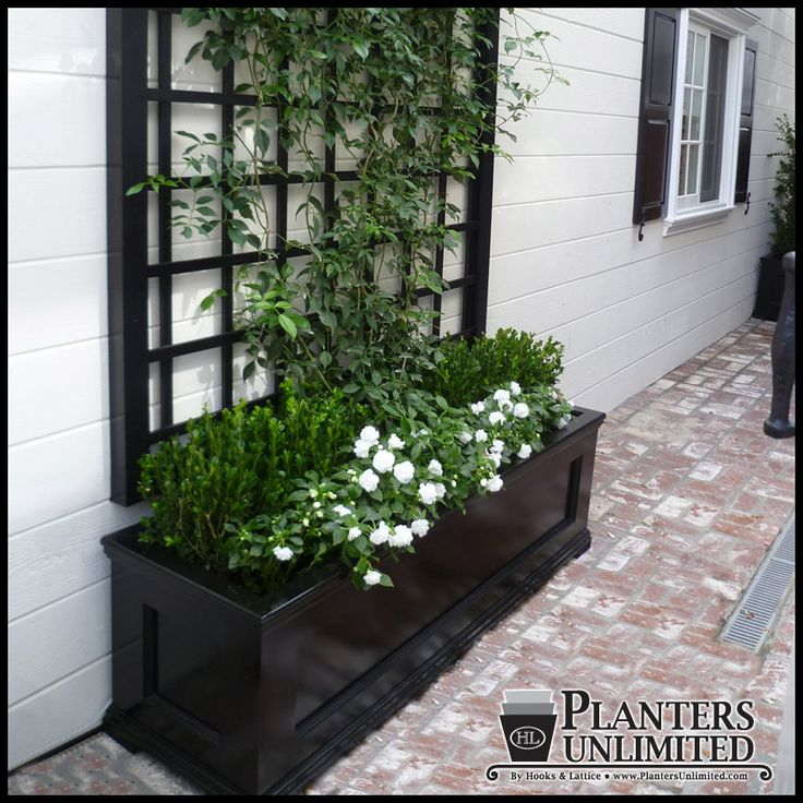Modern Railing Planters Custom By Rushton: 47 Best Images About Front Yard Ideas On Pinterest