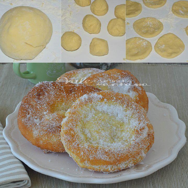 Frittelle del luna park ricetta senza lievitazione
