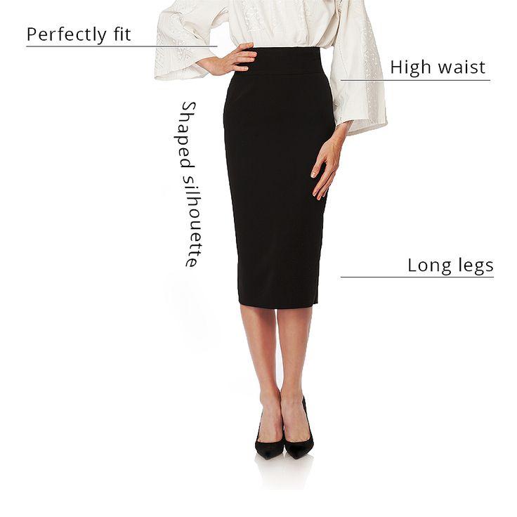 Romanian Pencil skirt  #romanian #pencil #skirt #pencilskirt #highwaist #longlegs #shaped #fit #hourglass
