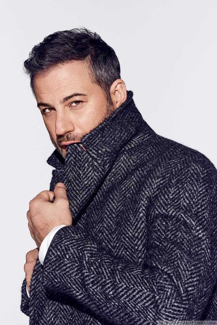 Fotografiado por Eric Ray Davidson, el comediante y conductor Jimmy Kimmel aparece en el número de febrero de GQ USA