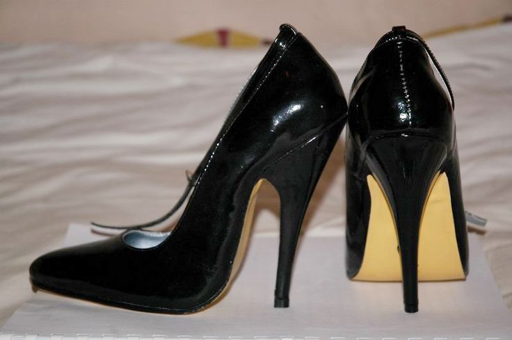 12cm stilettos, UK.