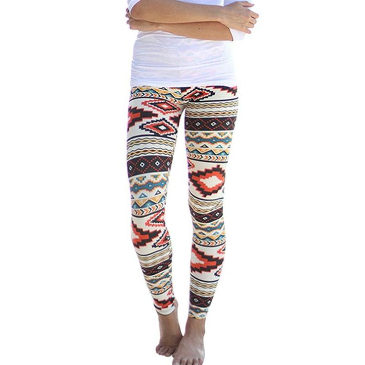 High Quality Women's Tribal Aztec Printed Leggings 9 Colours