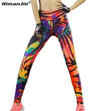 Coloré Yoga pantalon Femmes Nouveau Style Imprimer Sport Yoga Pantalon Élastique De Compression Collants Fitness Gym Courir Leggings Fahion Couleur(China)