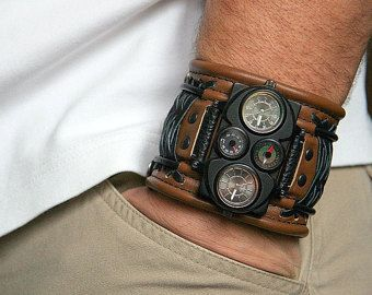 Mens watch Tuareg-7 watch for men birthday gift for dad by dganin