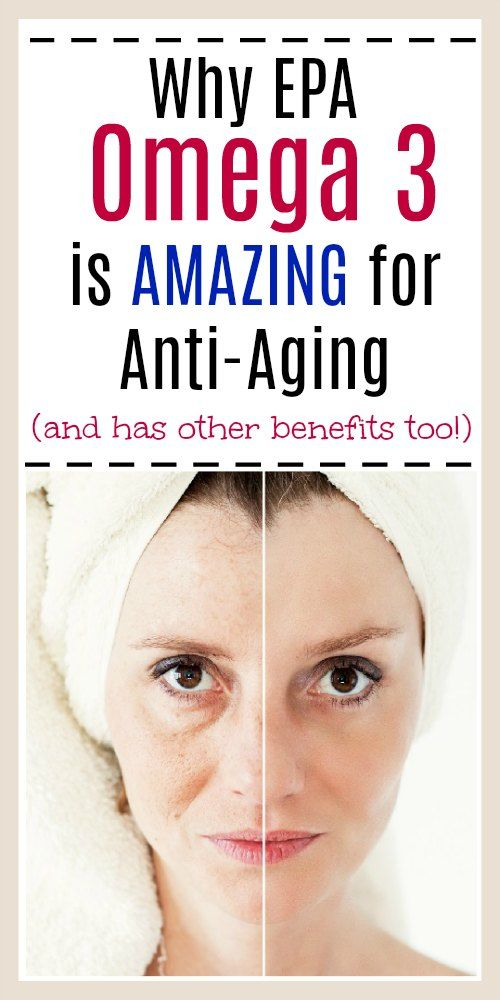 Why EPA Omega 3 is Amazing for Anti-Aging