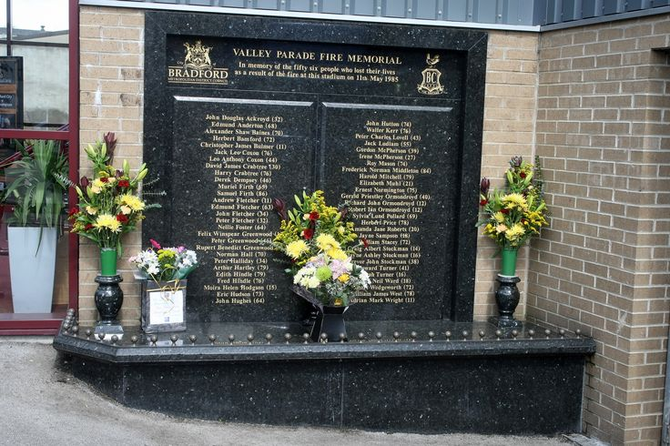 Football unites to remember the Bradford City fire disaster on 11 May 1985, when 56 fans who attended the club's match against Lincoln City at Valley Parade did not return home.