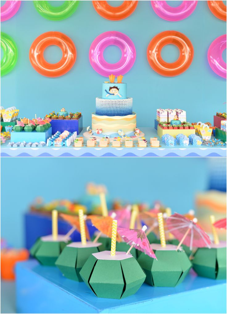 Convites pool party pesquisa google id ias de festa - How to make a pool party ...