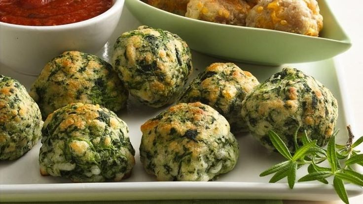 10-Minute Prep Spinach Cheese Balls