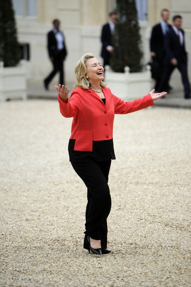 Pin for Later: Hillary Clinton's Epic T-Shirt Will Turn You Into a Fan of the Trousersuit