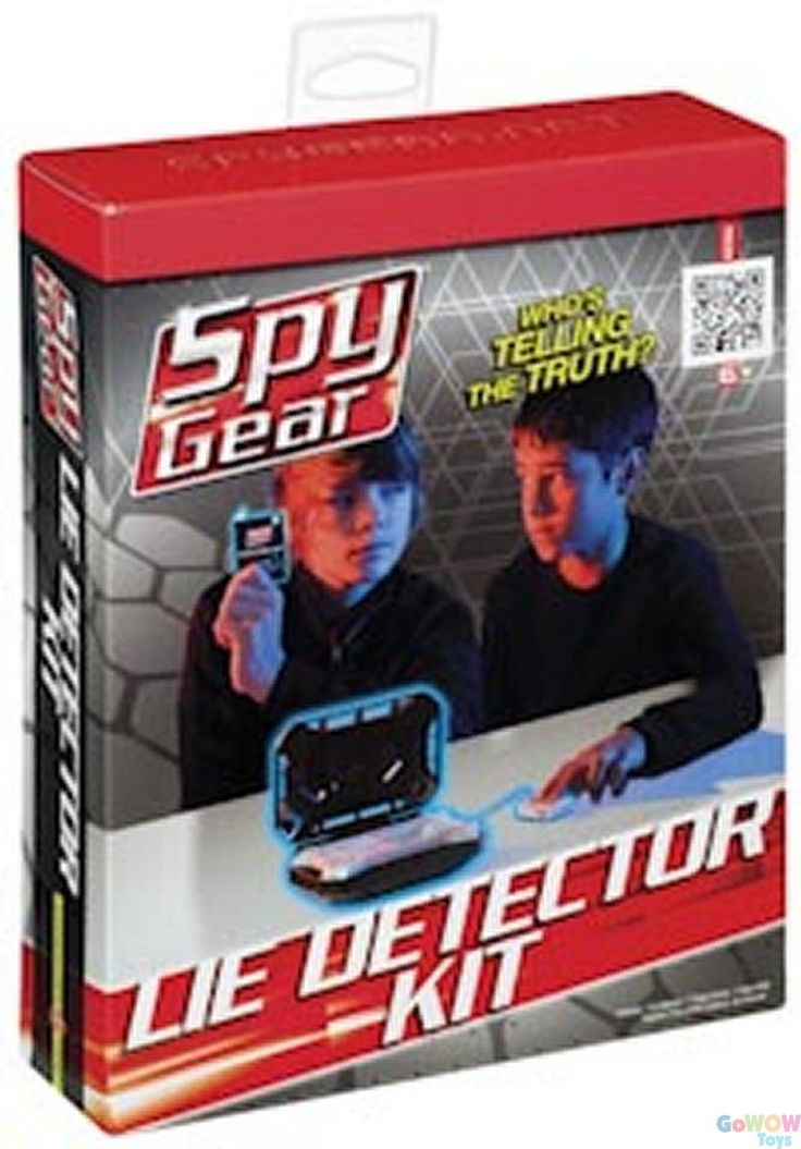 Cart NOW! Wild Planet Spy Gear Lie Detector Kit from GoWowToys online in #Canada