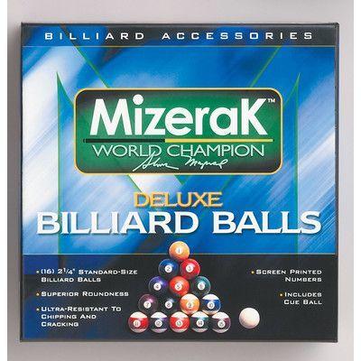 Mizerak Deluxe Pool Balls