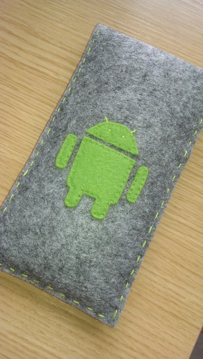 Android felt phone cover